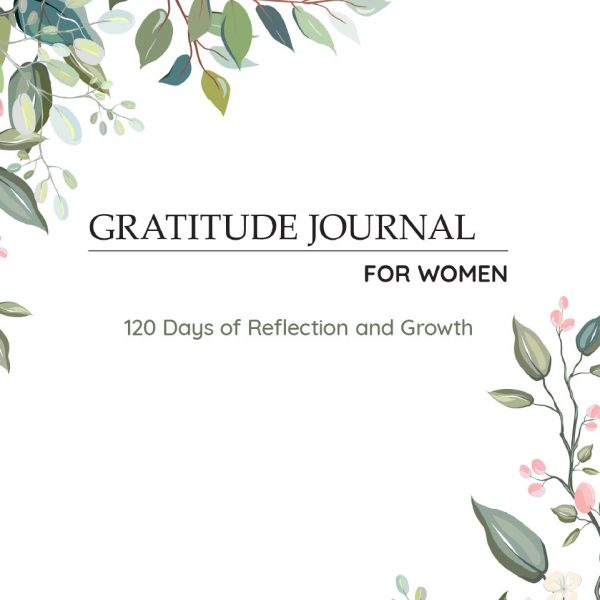 Gratitude Journal Women - Floral