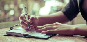 Simple Steps to help your journal writing